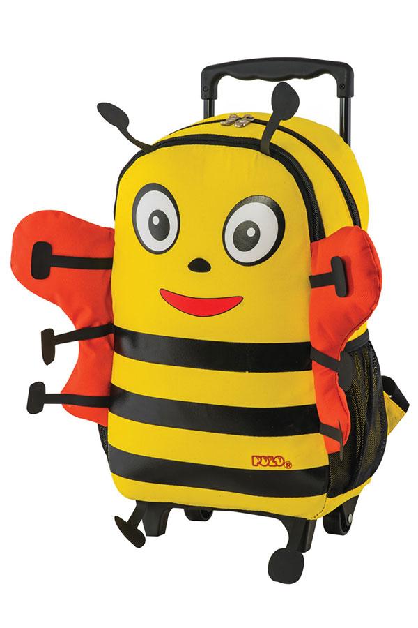 Σακίδιο νηπιαγωγείου τρόλεϊ POLO TROLLEY ANIMAL JUNIOR μελισούλα 90101104