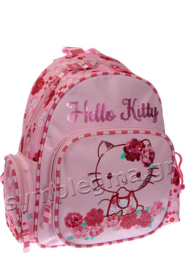 Σακίδιο νηπιαγωγείου Passion roses Hello Kitty ροζ 15929 dc28d7c8f52