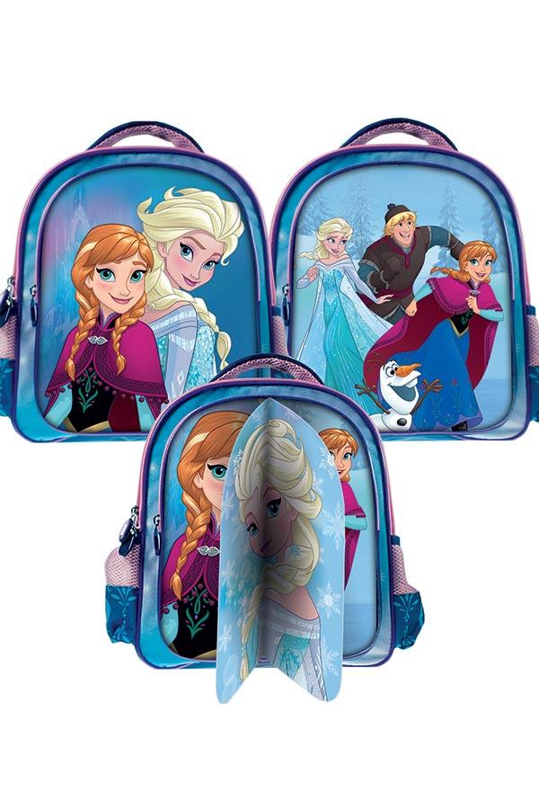 e4c9c5944a6 Σακίδιο νηπιαγωγείου Frozen Elsa 3 σχέδια σε μία τσάντα 0561715 ...