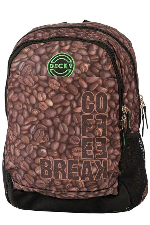 1217469d4a1 Σακίδιο DECK9 BACKPACK DESIRES Coffe Break 80106167