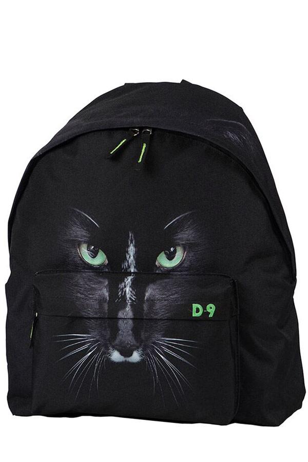 Σακίδιο DECK9 BACKPACK WILD LIFE μαύρη γάτα 80106060