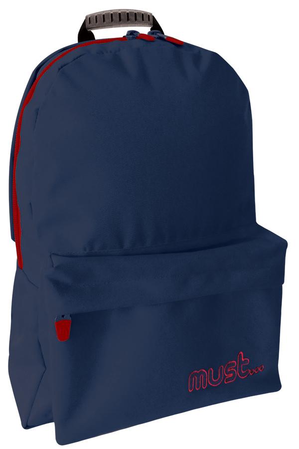 Σακίδιο πλάτης must luxury μπλε σκούρο με δώρο ακουστικά 0579120