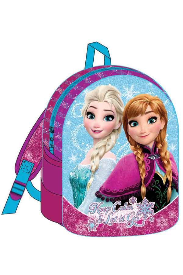 Σακίδιο νηπιαγωγείου Frozen Keep calm and lei it go 0561410