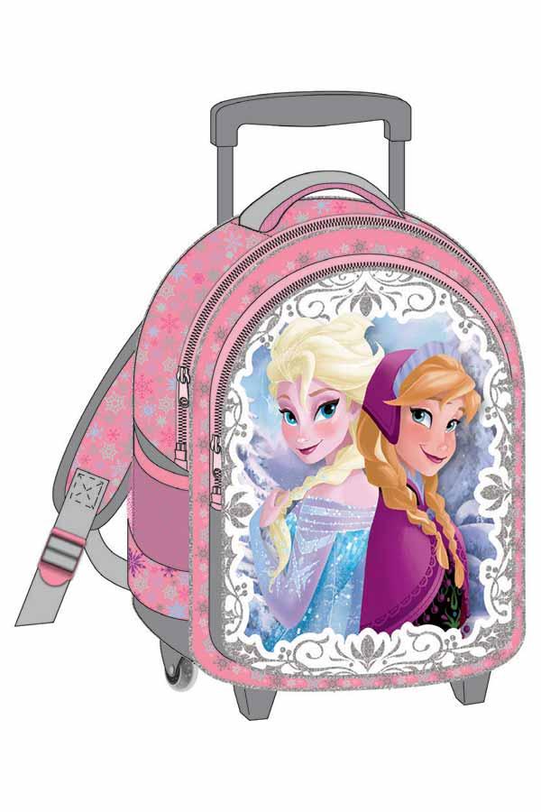 Σακίδιο νηπιαγωγείου τρόλεϊ Frozen Elsa Anna 0561402