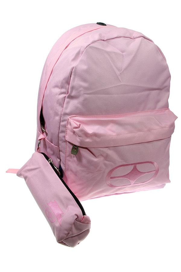 Σακίδιο με κασετίνα NO FEAR ροζ 34736033