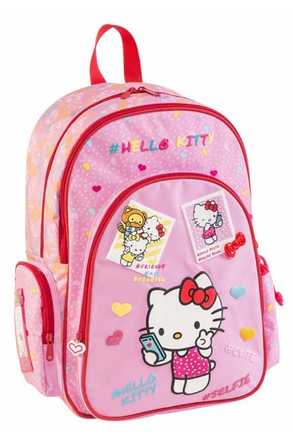 Σακίδιο πλάτης πολυθεσιακό Hello Kitty Kids ροζ 68221 61337a463d2