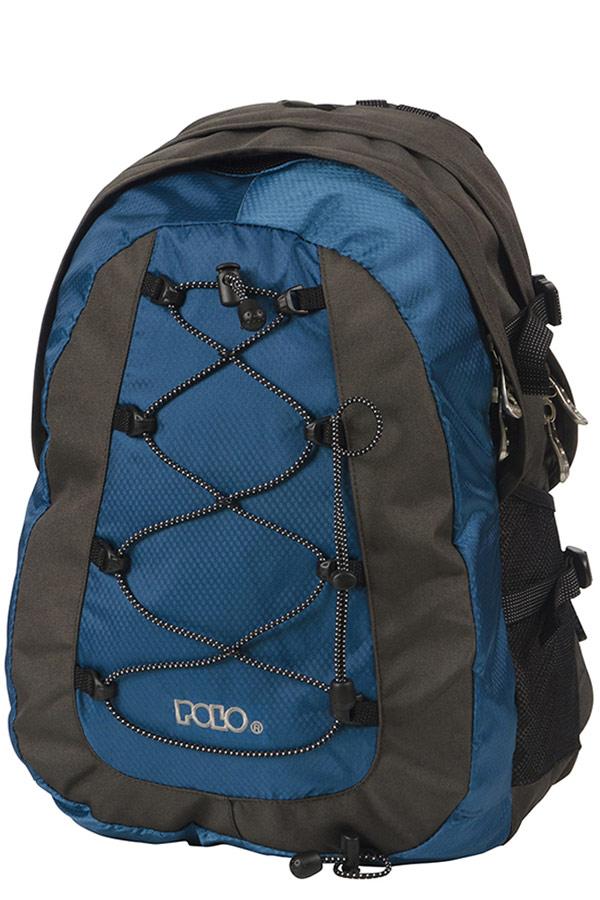 Σακίδιο POLO BACKPACK OFFPIST μαύρο - μπλε 90101520