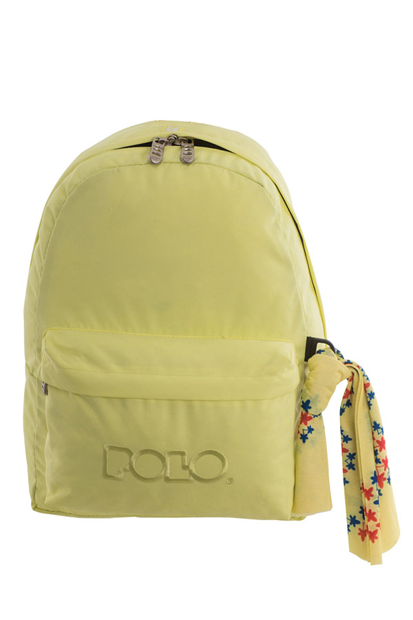 Σακίδιο POLO BACKPACK WITH SCARF κίτρινο 90113504-P