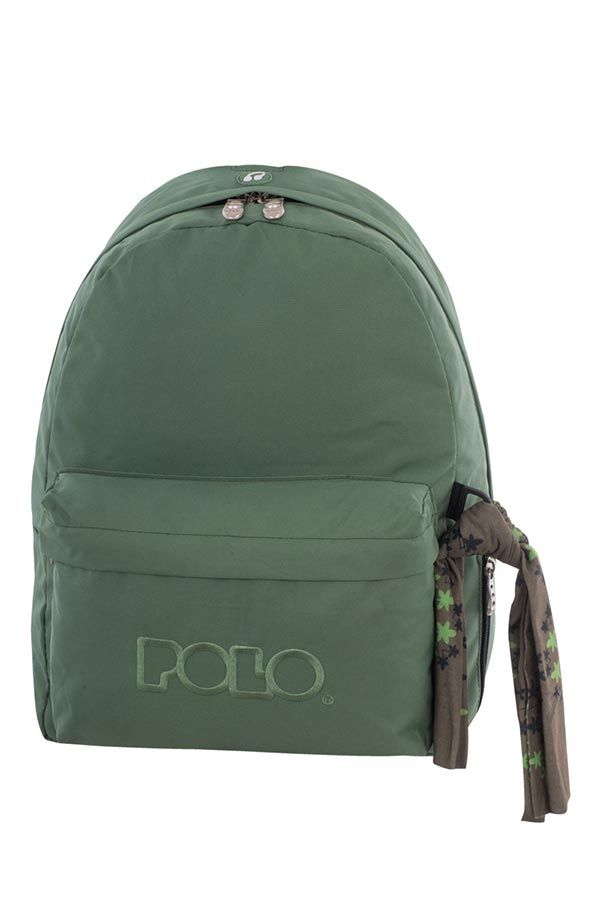 Σακίδιο POLO BACKPACK WITH SCARF λαδί 90113507-P