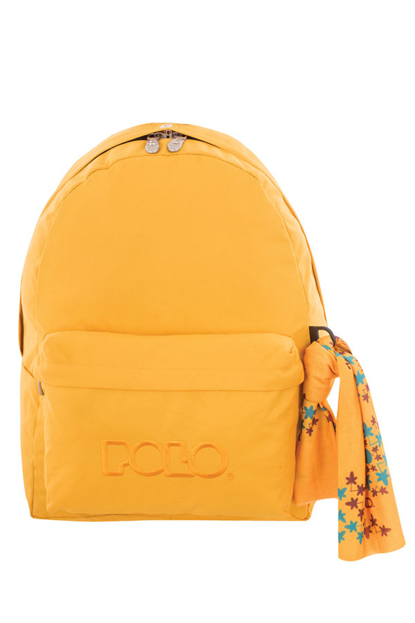 Σακίδιο POLO BACKPACK WITH SCARF κίτρινο σκούρο 90113534