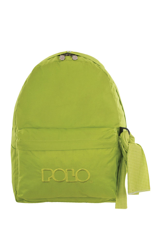 c4a3750a972 Σακίδιο POLO BACKPACK WITH SCARF λαχανί καρό 90113586 2016