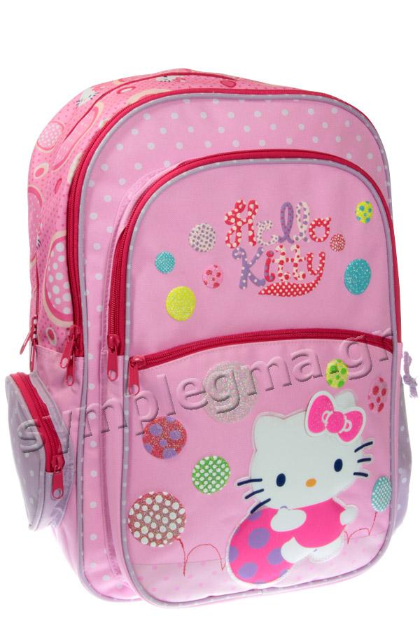 Σακίδιο πολυθεσιακό Playful Hello Kitty ροζ 15822 ed85bdb712c