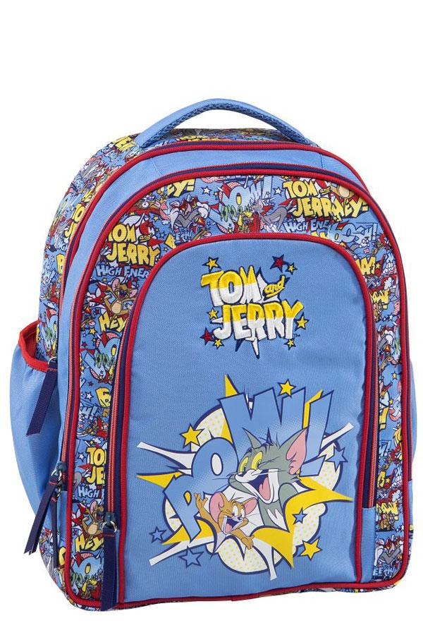 Σακίδιο πολυθεσιακό Tom and Jerry γαλάζιο 15122 26e9a1e792d