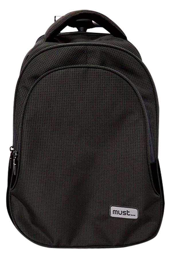 Σχολική τσάντα τρόλεϊ must Power μαύρη 0579177