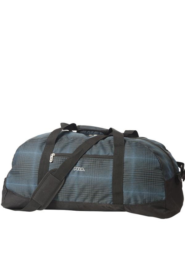 Τσάντα ταξιδίου POLO TRAVELLER 60Lt μαύρο - μπλε 90904005