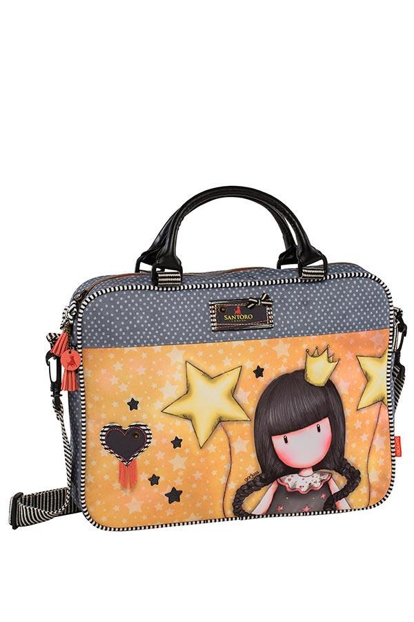 Τσάντα laptop χαρτοφύλακας Santoro gorjuss - Universe Graffiti 177364