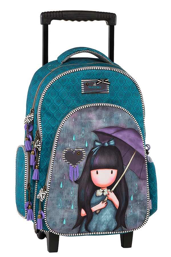 28ff7053776 Σχολική τσάντα τρόλεϊ Santoro gorjuss My umbrella Graffiti 177253 ...