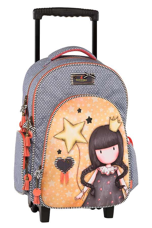 c9f67a1e9d5 Σχολική τσάντα τρόλεϊ Santoro gorjuss Universe Graffiti 177254 ...