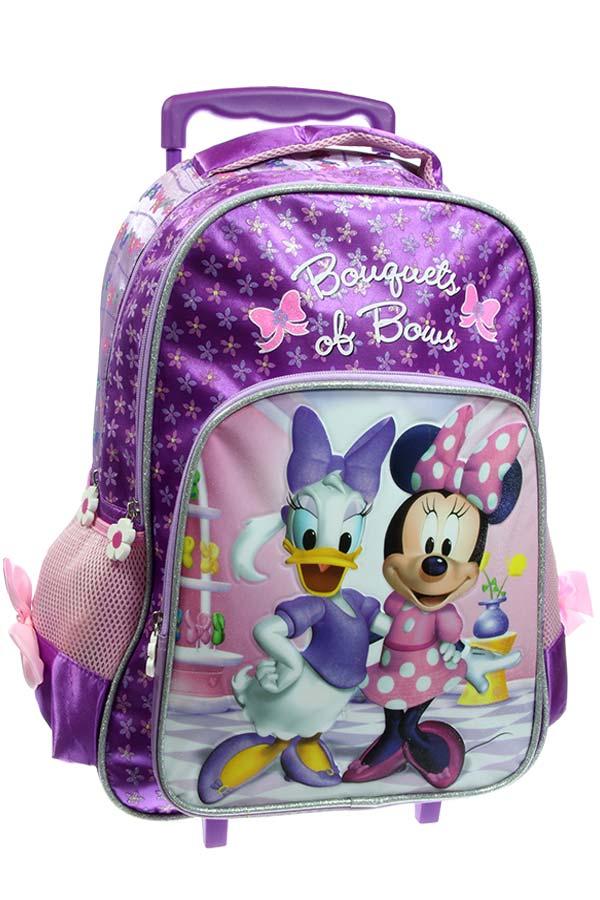 6d19360d30f Σχολική τσάντα τρόλεϊ Minnie Bouquets of bows 0561476