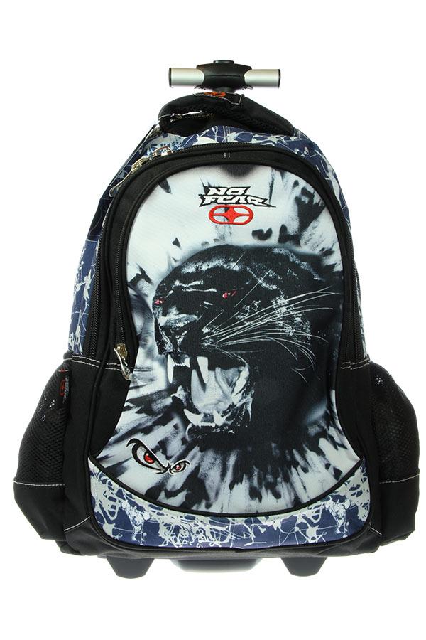 Σχολική τσάντα τρόλεϊ NO FEAR πάνθηρας 34709074