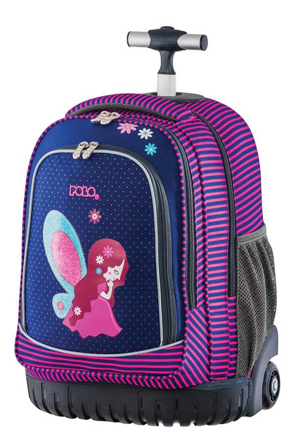 d1944fc6f5 Σχολική τσάντα τρόλεϊ POLO BACKPACK ANATOLIA νεράιδα 90120619 ...