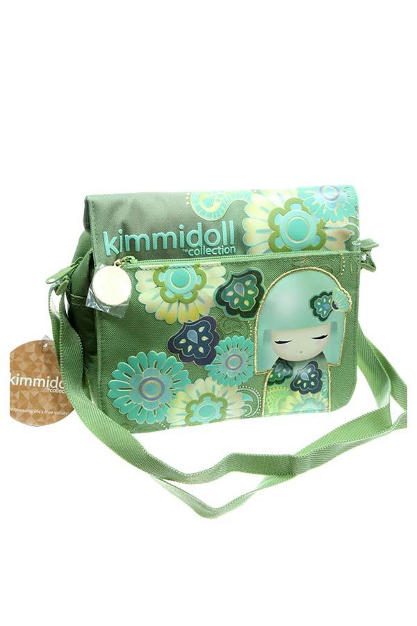 Τσαντάκι ώμου Kimmidoll πράσινο 63232