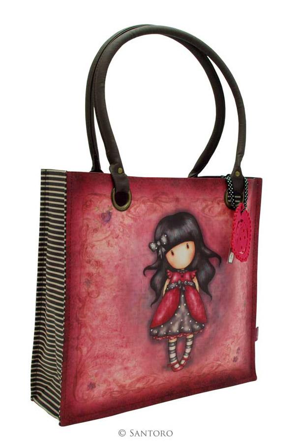 Τσάντα Santoro gorjuss καμβάς - Ladybird 291GJ09