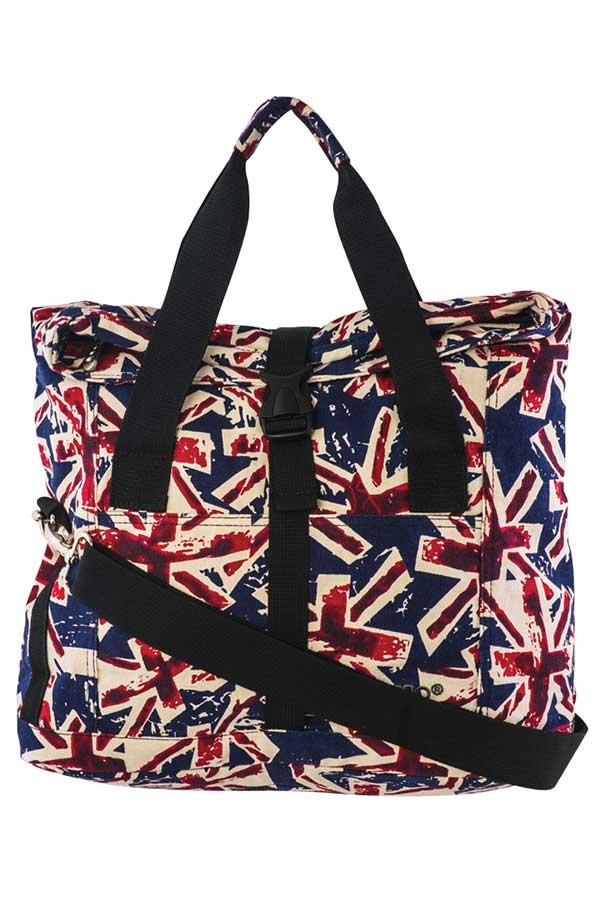 Τσάντα shopping bag POLO SHOPPER QUEEN βρετανική σημαία 90712505