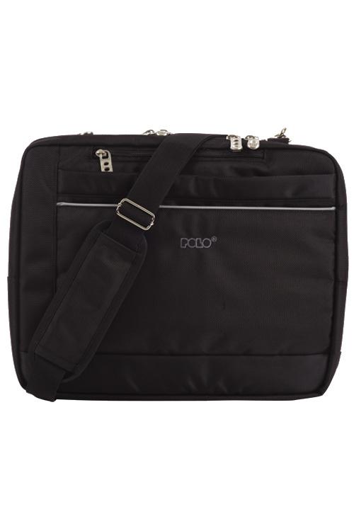 Τσάντα laptop - χαρτοφύλακας POLO BULLET μαύρο 90709102
