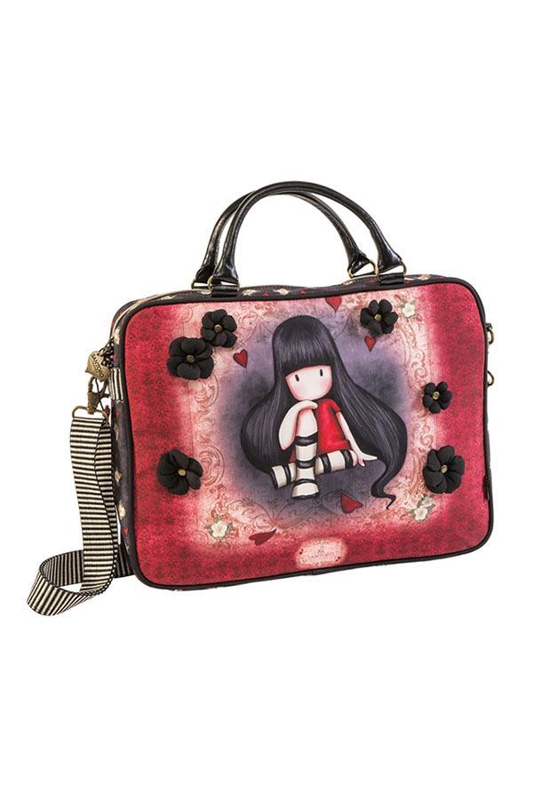 Τσάντα laptop χαρτοφύλακας Santoro gorjuss The collector 67361