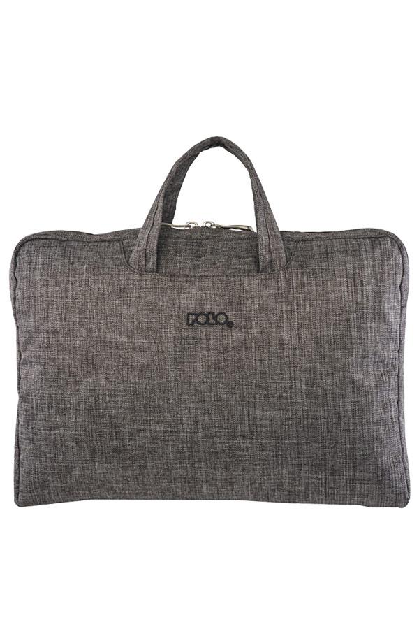 Τσάντα laptop - χαρτοφύλακας POLO BRIEFCASE LADY 15,6΄΄ γκρι 90713290