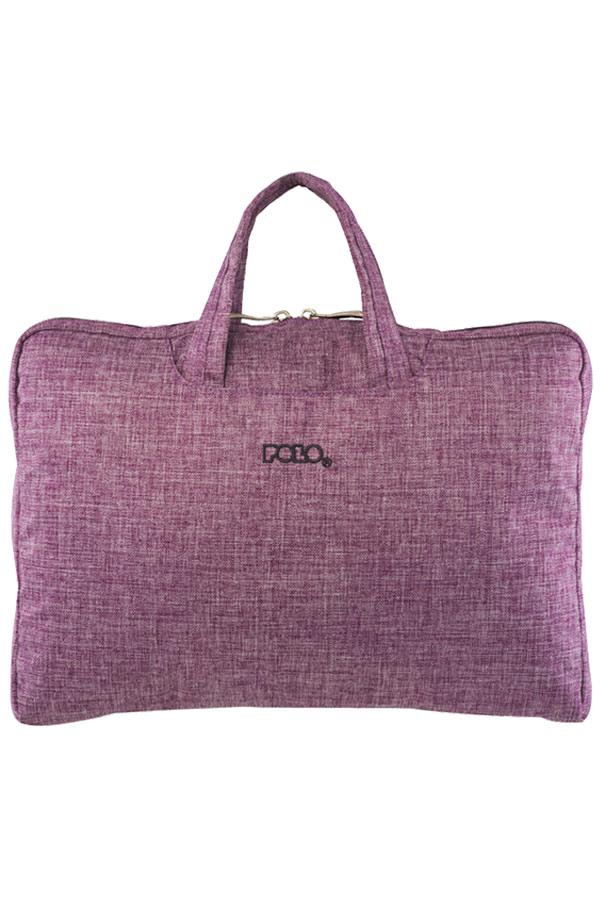 Τσάντα laptop - χαρτοφύλακας POLO BRIEFCASE LADY 15,6΄΄ μωβ 90713295