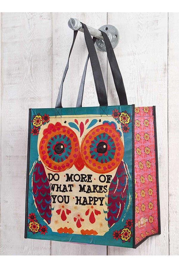 Τσάντα shopping bag Natural Life - Do more of what makes you happy GBAG037