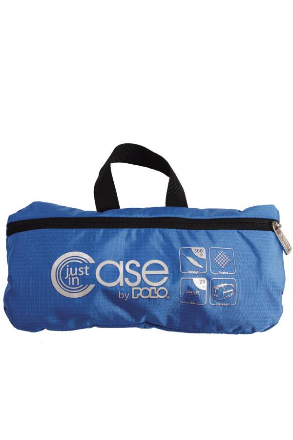 Τσάντα ταξιδίου POLO Just in case μπλε 90900106