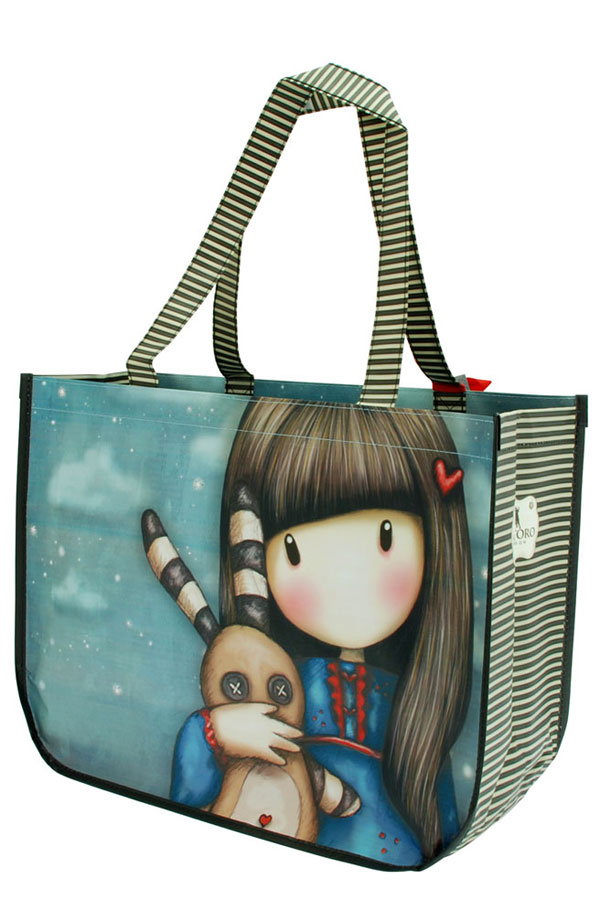 Τσάντα Shopping bag Santoro gorjuss - Hush little bunny 253GJ06