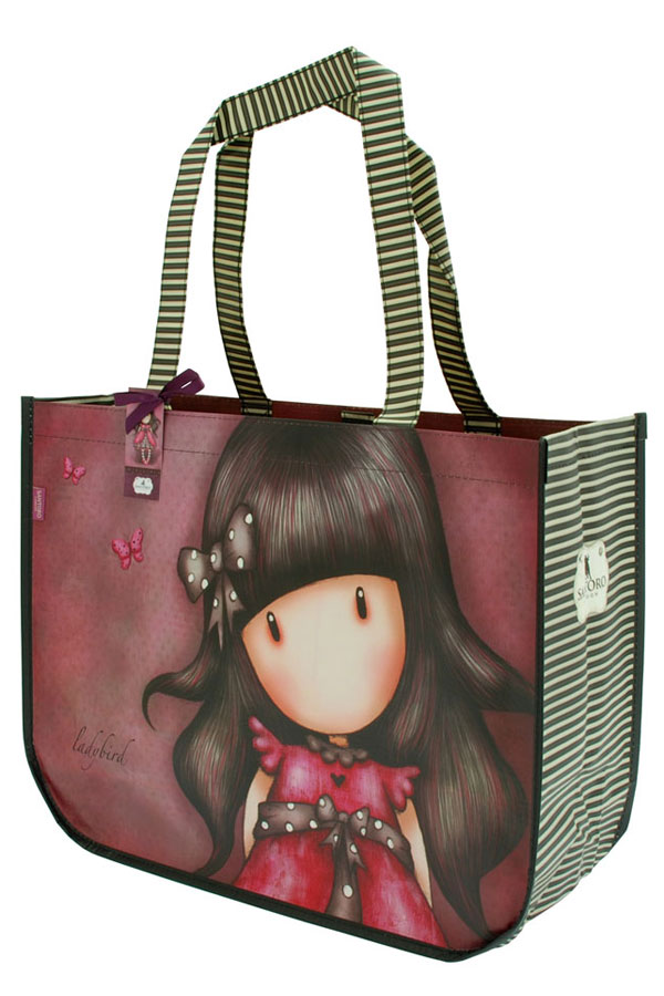 Τσάντα Shopping bag Santoro gorjuss - Ladybird 253GJ07