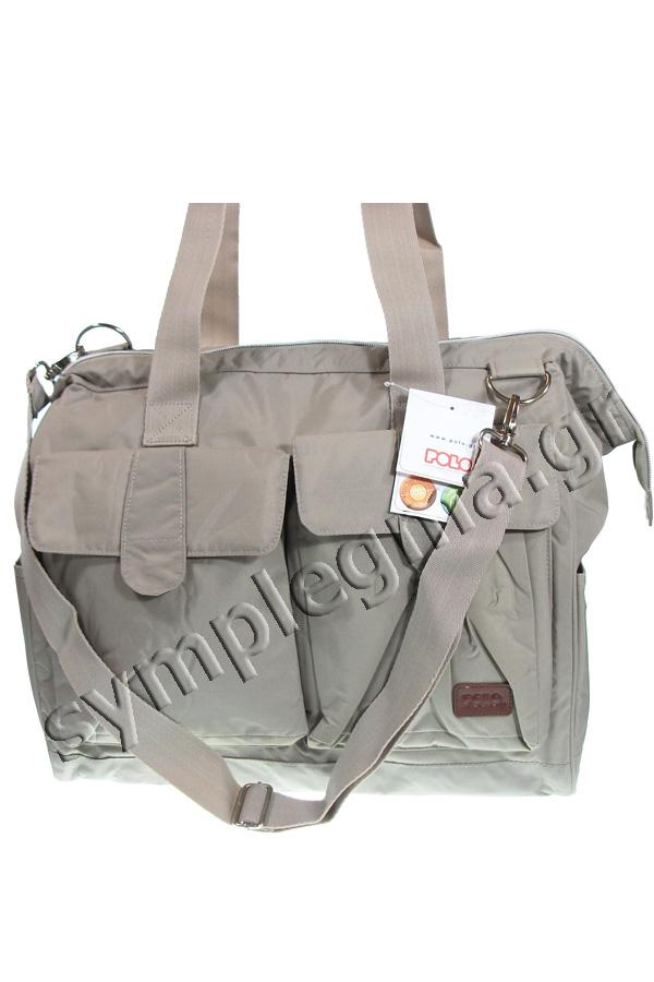 Τσάντα ταξιδίου POLO MIRTA 30Lt μπεζ 90900437