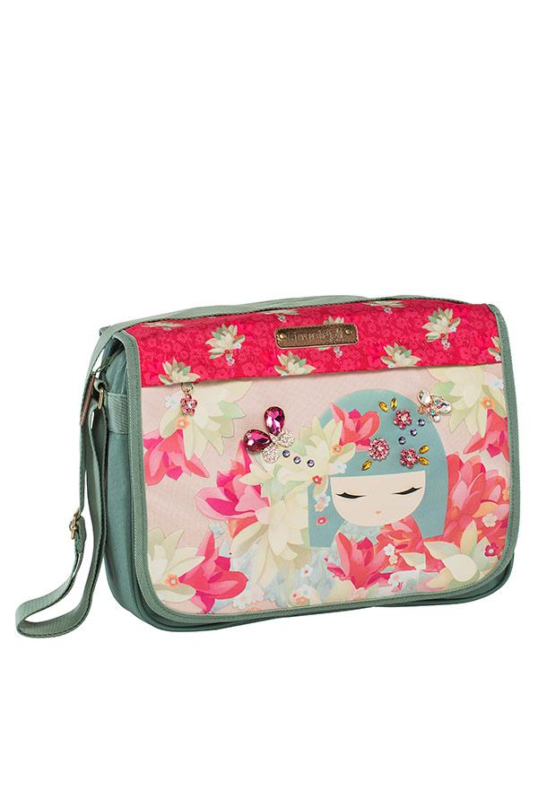 Τσάντα ταχυδρόμου Kimmidoll ροζ Graffiti 173242
