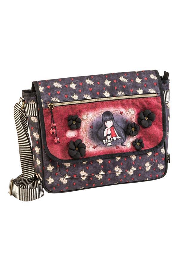 Τσάντα ταχυδρόμου Santoro gorjuss The collector 67241