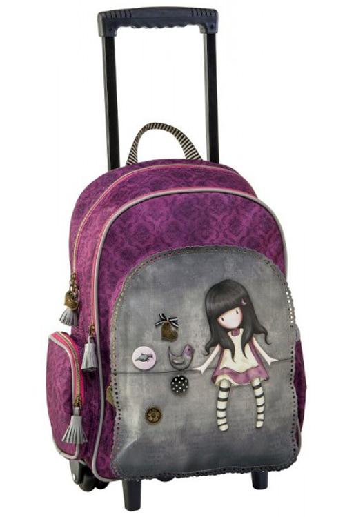 e67469e389 Σχολική τσάντα τρόλεϊ Santoro gorjuss - My secret place 57252