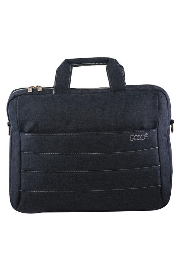 Τσάντα laptop - χαρτοφύλακας POLO BRIEFCASE METROPOLIS γκρι 90712409