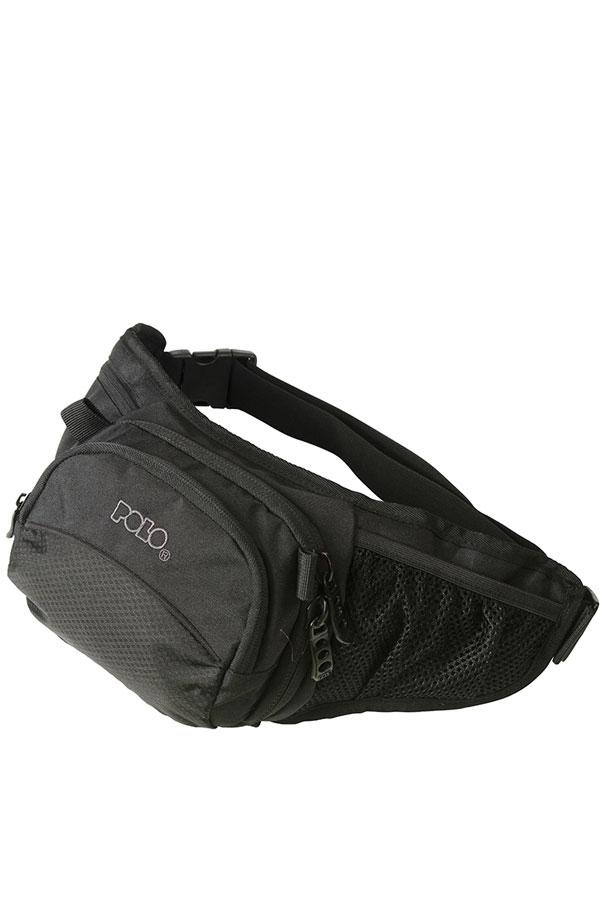 Τσαντάκι μέσης POLO WAIST BAG GUN μαύρο 90802202