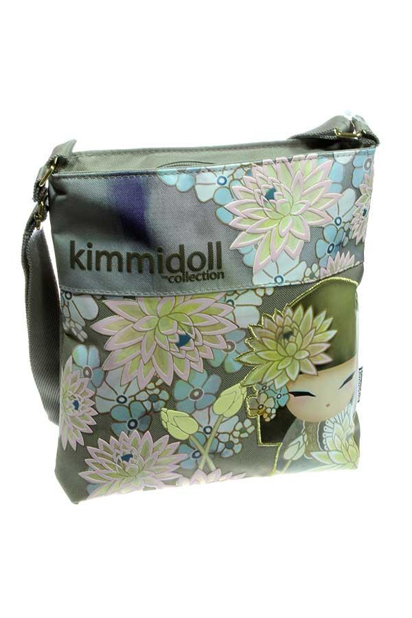 Τσαντάκι ώμου Kimmidoll γκρι 63311