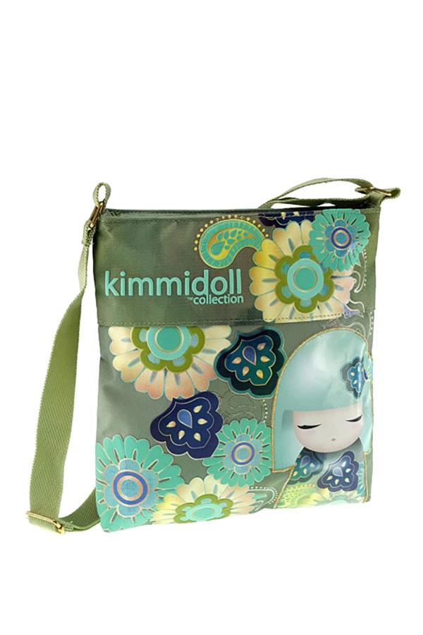 Τσαντάκι ώμου Kimmidoll πράσινο 63312