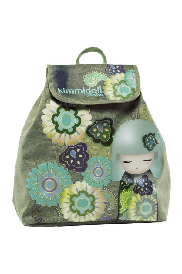 Σακίδιο πλάτης Kimmidoll πράσινο 63302