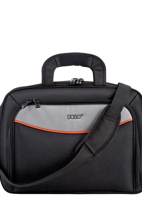 Τσάντα laptop - χαρτοφύλακας POLO FLASH BRIEFCASE μαύρο 90709214