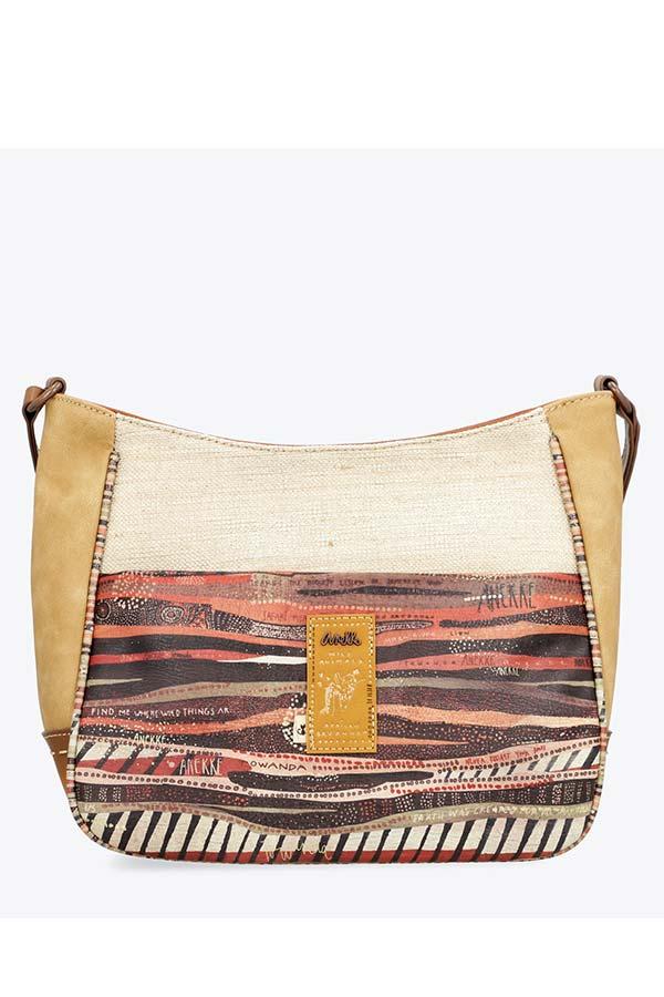 Anekke Kenya Safari Τσάντα ώμου μεσαία 32722-03-110