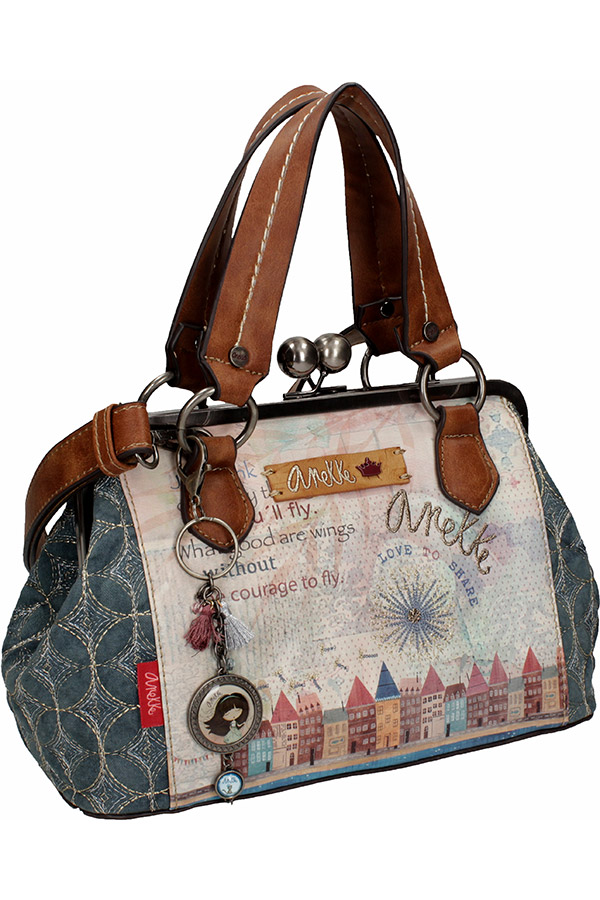 Anekke Τσάντα χειρός - ώμου μεσαία Liberty 26831-09