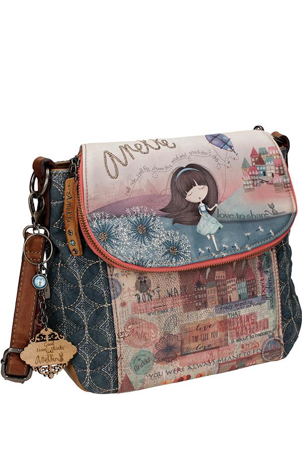 Anekke Τσάντα ώμου με καπάκι Liberty 26833-01