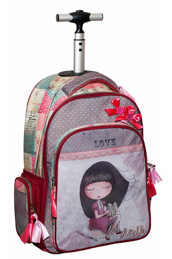 Anekke Σχολική τσάντα τρόλεϊ Sweet 346-91074